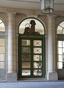 Siège du Conseil constitutionnel, au Palais-Royal.