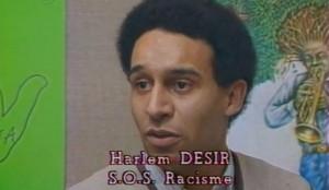 Harlem Désir en 1985.
