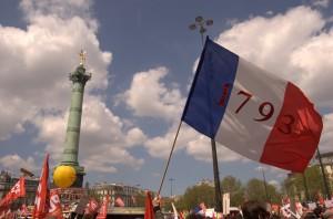 Dimanche 5 mai, place de la Bastille.