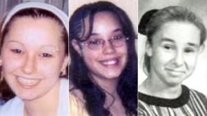 De gauche à droite : Amanda Berry, Gina et Michele Knight.