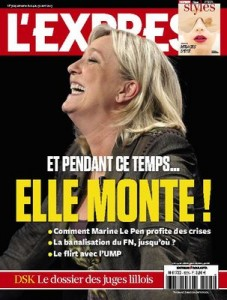 Une de l'Express du 23 avril
