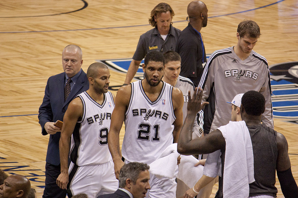 Tim Duncan et Tony Parker (CC / Mike)