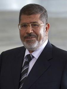 Mohamed Morsi, le président égyptien renversé par l'armée. (Photo: Wilson Brias Licence CC)
