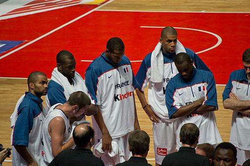Équipe de France de basket - CC/ Carlos Delgado