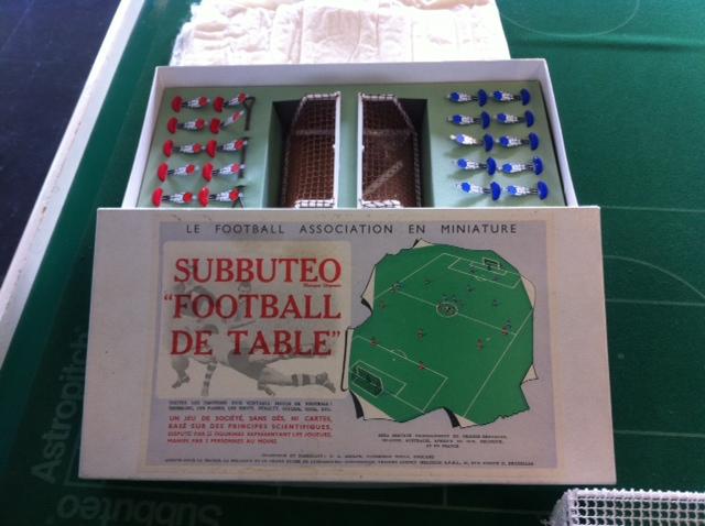 Le Subbuteo est arrivé en France à la fin des années 1950. (Photo L.B. pour ParlonsInfo)