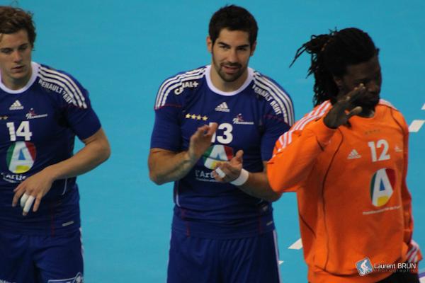 Menée par un Nikola Karabatic au sommet de sa forme, l'équipe de France de Handball a obtenu un titre de plus. (Photo: Laurent Brun/Licence CC)