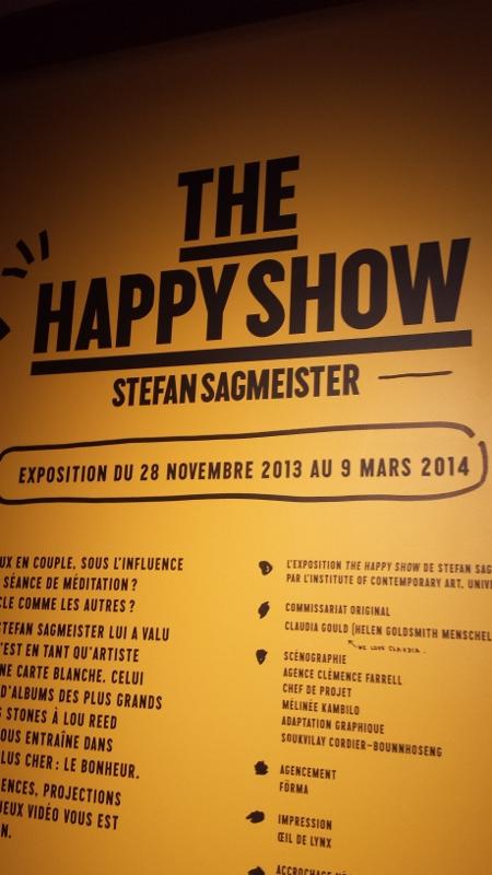 Stefan Sagmeister a pu laisser libre cours à son imagination (Photo: Antoine BALLET/Parlonsifo)