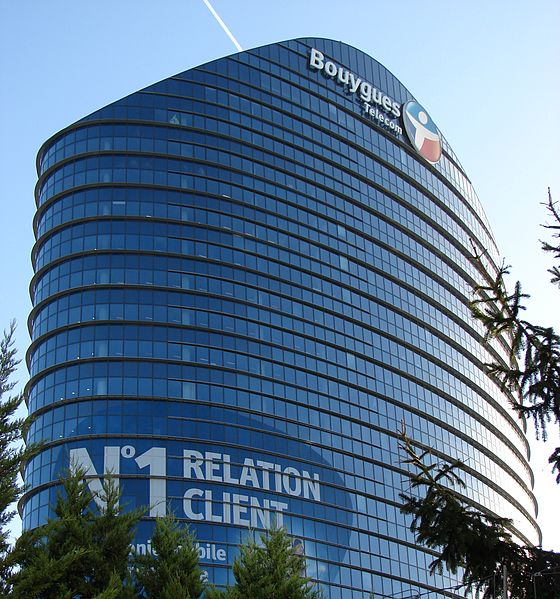 Le siège de Bouygues Télécom - D. Rodet Licence CC