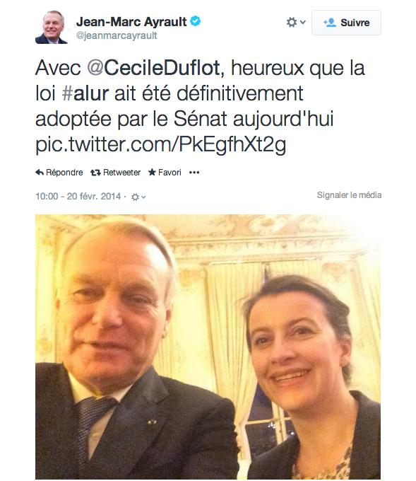 SelfieAyrault Duflot