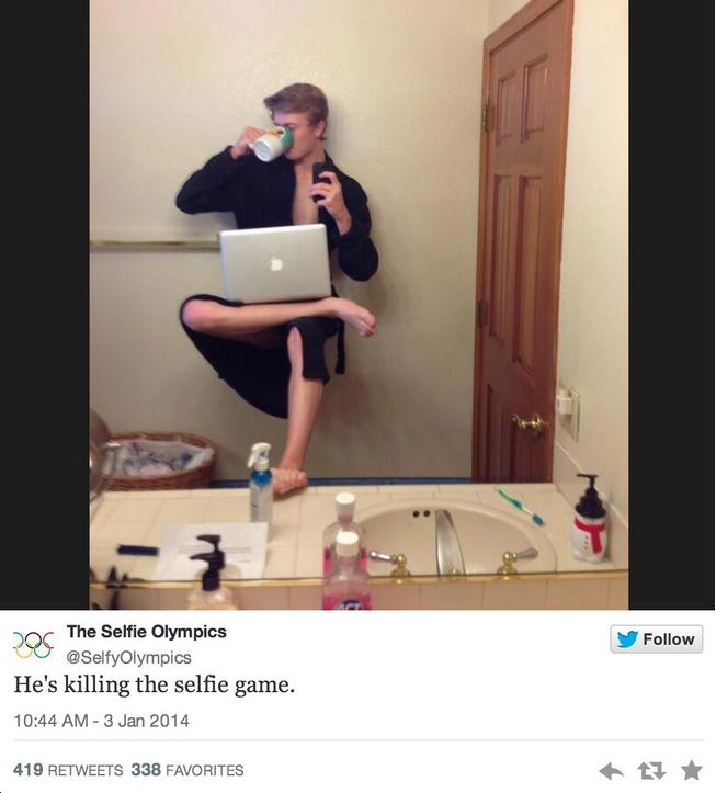 Olimpic selfie