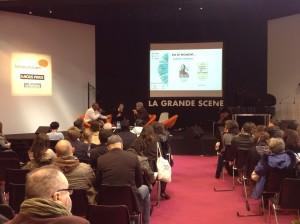 Le débat avec Oxmo Puccino autour de Twitter / ©Parlonsinfo