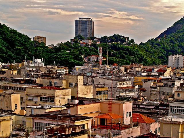 A Rio, un tiers de la population vit dans les favelas.