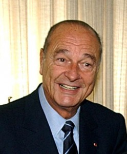 Jacques Chirac en 2004 / CC Marcello Casal Jr.