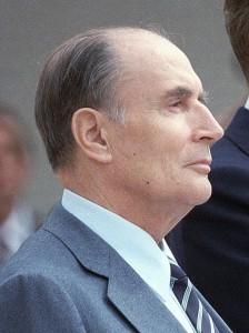 François Mitterrand en 1984 / CC James Cavalier (US Army)