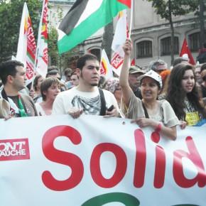 À Paris, les propalestiniens ont défilé dans le calme