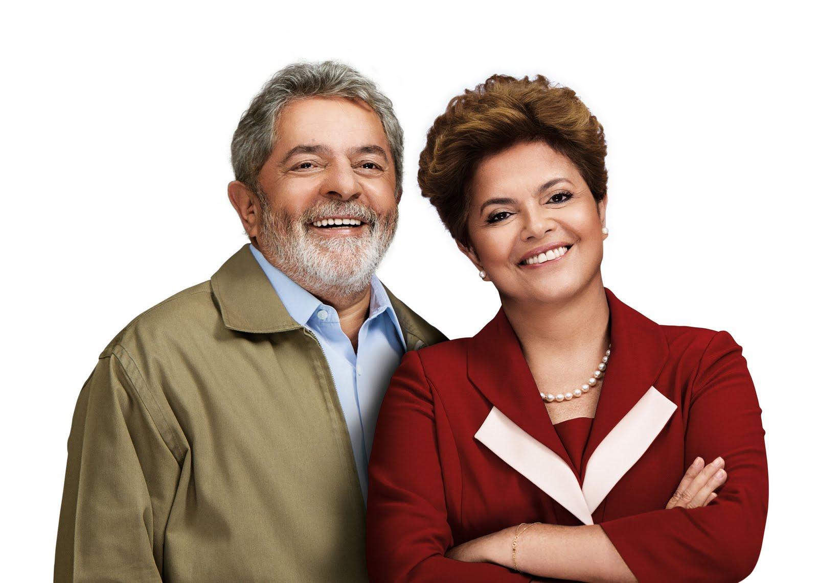 Luiz Inacio Lula da Silva, ancien président, et Dilma Roussef, son héritière au sein du Parti Travailliste (João de Bourbon / Licence CC)