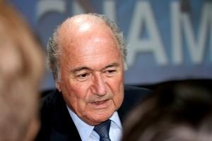 Sepp Blatter, actuel président de la FIFA