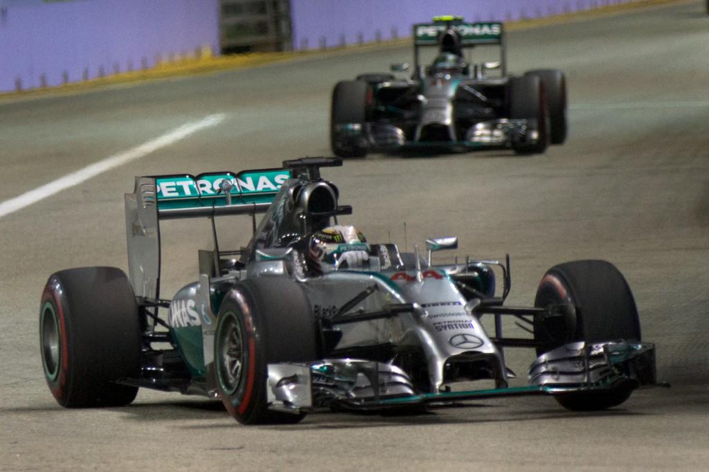 Malgré un beau parcours, Nicolas Rosberg a été supplanté par son coéquipier de chez Mercedes Lewis Hamilton (Photo : Morio | licence CC)