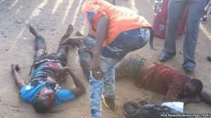 Victimes de l'attentat de Nyanya