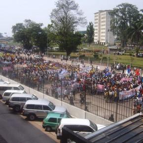 Kinshasa sous haute tension