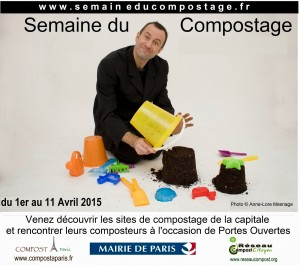 La semaine du compostage, du 1er au 11 avril : un événement organisé par l'association Réseau Compost Citoyen