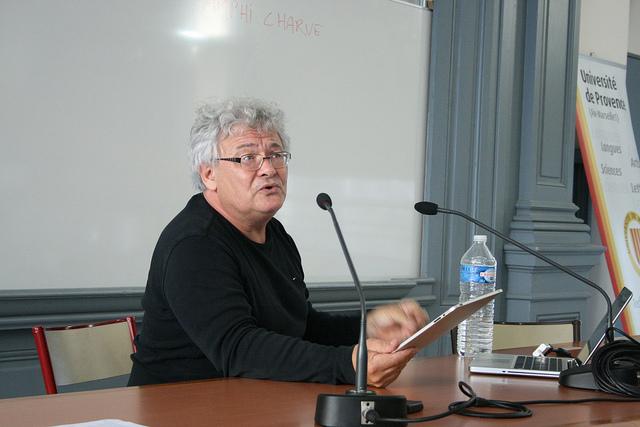 François Bon, un pionnier de l'édition numérique bien peu médiatisé (photo OpenEdition - L.G. Licence CC)