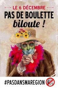 Image provenant du groupe Facebook «Alcoolique, chômeurs, consanguins mais pas lepenistes»