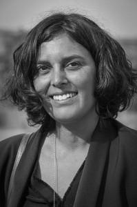 Myriam El Khomri (membre du PS), actuelle ministre du Travail, de l'Emploi, de la Formation professionnelle et du Dialogue social, nommée le 2 septembre 2015
