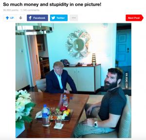 """""""Tellement d'argent et de stupidité en une seule photo!"""" via 9gag.com"""