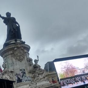 Dimanche 10 janvier : Un an après, place de la République