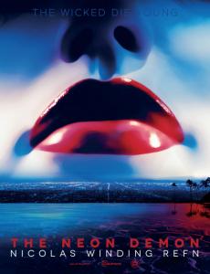 """Affiche étrangère pour """"The Neon Demon""""."""