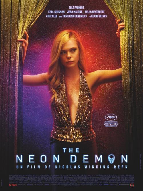 """Affiche française de """"The Neon Demon""""."""
