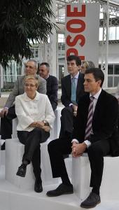 P.SANCHEZ, leader du PSOE (à droite) par Angeles Alavarez Alvarez, Licence CC