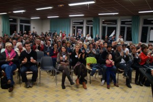 Des citoyens français lors d'une réunion publique - Photo by Marc Gricourt Municipales (Licence CC)