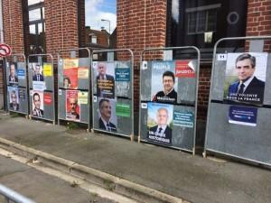 Affiches présidentielles
