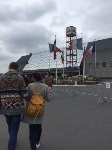 Bruxelles - Palais des expositions : En Marche vers l'Europe.Crédits : ParlonsInfo