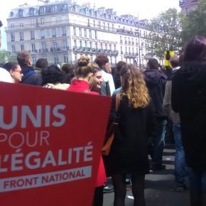 Marche du 1er mai : Front hétérogène face au Front national