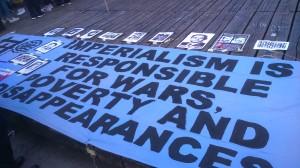 Panneau commémorant les opposants marocains disparus dans les années 1960 sous le règne du roi Hassan II