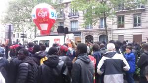 Les membres de la CGT 94 : « Les jeunes dans la galère ! Les vieux dans la misère ! De cette société-là, on n'en veut pas ! »