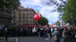 Cortège du PCF (Parti Communiste Français) et du Front de Gauche