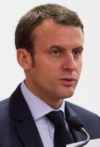 Emmanuel Macron, Leader de En Marche ! © École polytechnique - J.Barande
