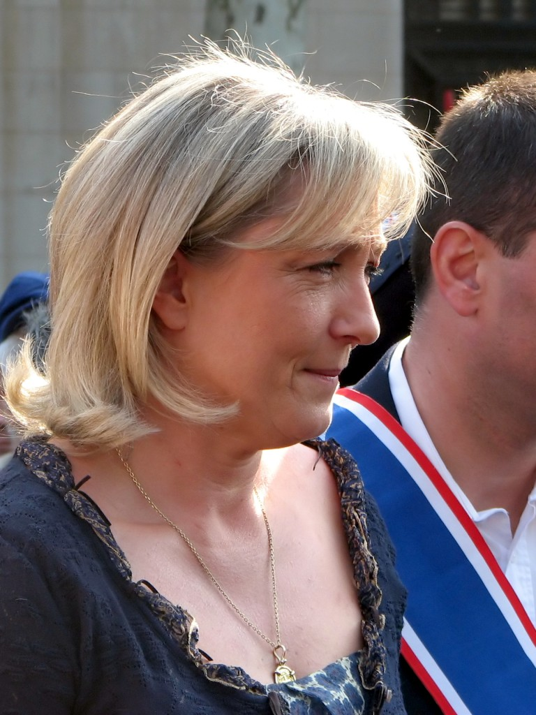 Marine Le Pen, Présidente du Front National (CC Flickr : manu_le_manu)