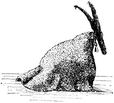 """Julbock"" ou chèvre de Noël (source: WikiCommons)"