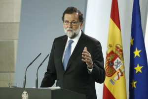 Le 27/10/17, Mariano Rajoy annonce des élections anticipées en Catalogne  (La Moncloa, flickr.com)