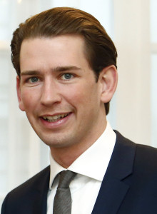 Sebastian Kurz, le nouveau chancelier (source : WikiCommons, Dragan Tatic)