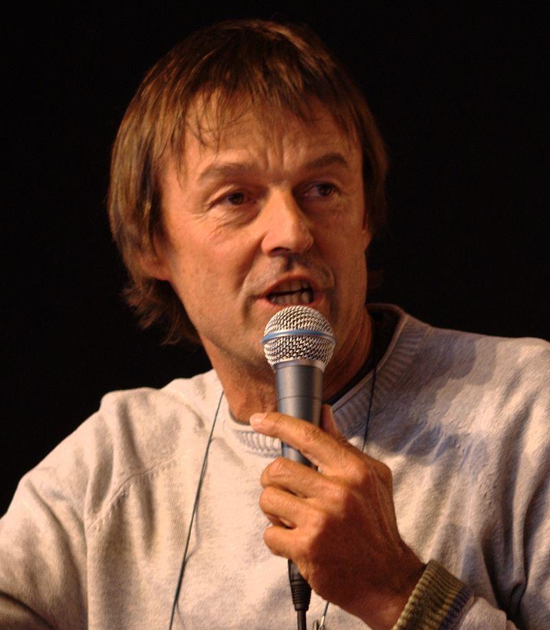 Nicolas Hulot - crédits : Olivier Tétard (Wikimédia Commons)