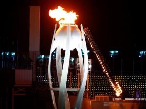 La flamme se rallumera dans 4 ans à Pékin. - Crédits : Corriere della Sera (Wikimédia Commons)