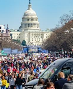 La marche à Washington a relié le Capitole à la Maison Blanche - Crédits : Ted Eytan (Wikimédia Commons)