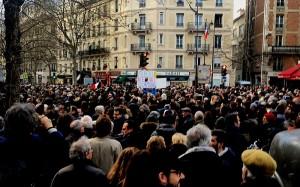 La marche à Paris a rassemblé plusieurs milliers de personnes - Crédits : Olevy (Wikimédia Commons)