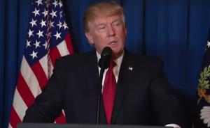 Trump s'adresse à la nation après avoir autorisé l'envoi de missiles en Syrie